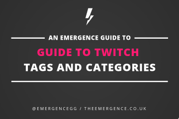 guide, twitch, tags, categories